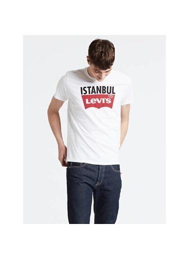 Levi's® Erkek Tişört Destination Istanbul 80743-0047 Sarı
